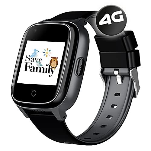SaveFamily Senior. Reloj-Localizador con GPS para Personas Mayores. Llamadas, Aviso...
