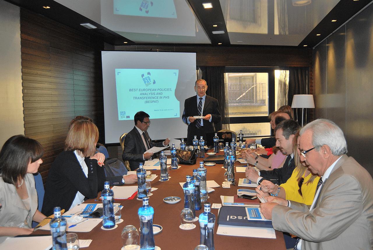 Kit de Buenas Prácticas in PHS en la Unión Europea