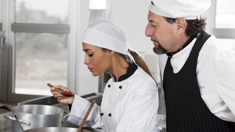Ayudante de Cocina y limpieza