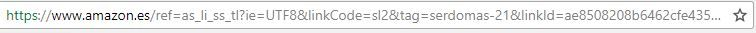 Guardar enlaces Web en Google Chrome