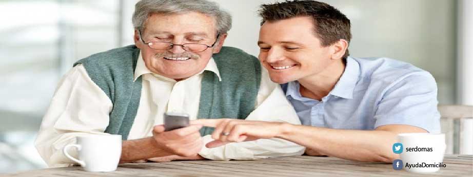 Las personas mayores y el uso de la nueva tecnología