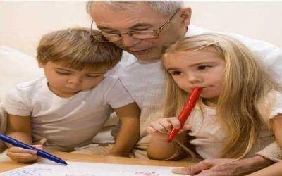 La vuelta a la rutina de abuelos y nietos