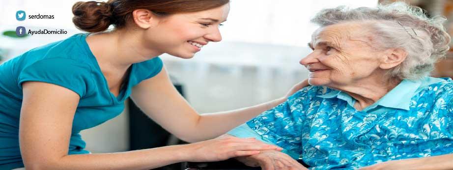 Cuidado de personas mayores en el domicilio