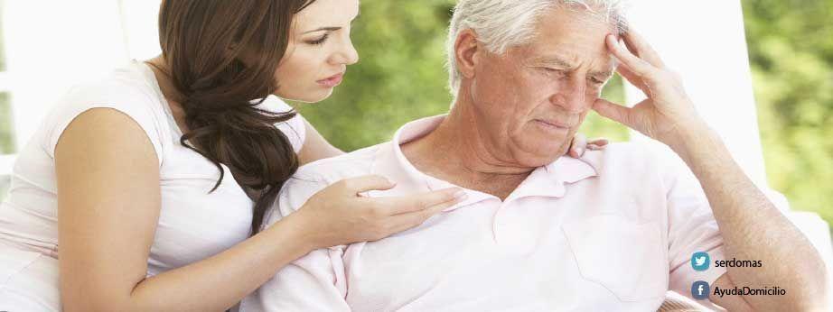 Proceso de incapacitacion de una persona con Alzheimer