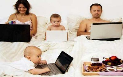 ¿Es mala la tecnología para la familia?